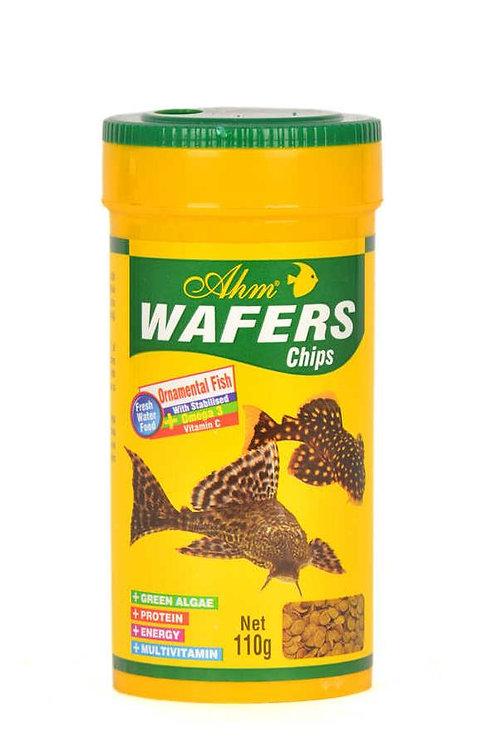 """מזון לדגי קרקעית 100 מ""""ל AHM Wafers Chips"""