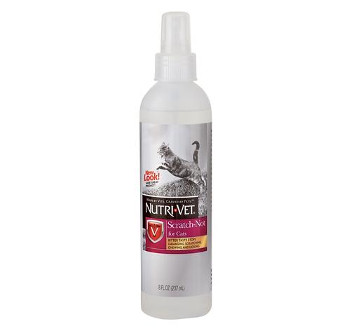 """תכשיר נגד כירסום רהיטים לחתולים 236 מ""""ל Nutri-Vet Scratch Not Spray for Cats"""