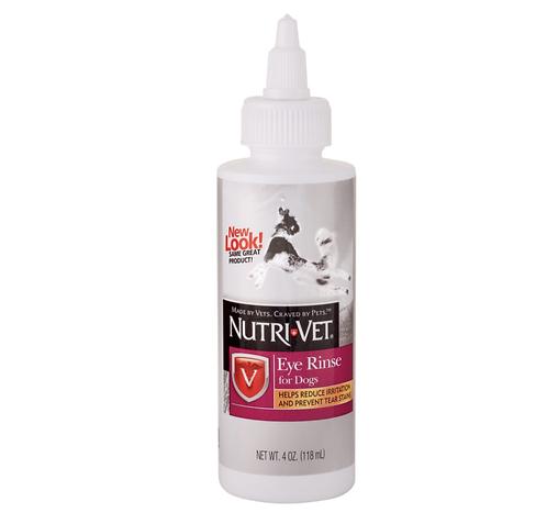 """נוזל לניקוי עיניי הכלב 118 מ""""ל תוצרת חברת Nutri-vet"""
