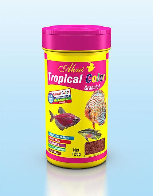 מזון לדגי טרופיקאל צבע AHM TROPICAL COLOR GRANULAT