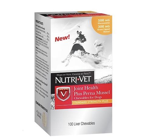 כדורים לחיזוק מפרקי הכלבים  נוטרי ווט   Nutri Vet Hip & Joint Level Chewables