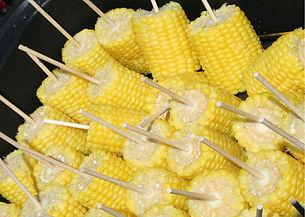 דוכני מזון אוכל תירס חם