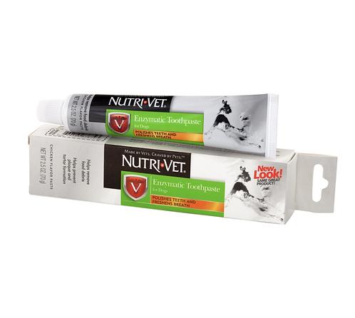 משחת שיניים אנזימטית תוצרת חברת Nutri-vet USA