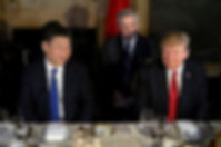 Donald Trump waited until Xi Jinping was eating cake before informing the Chinese president that he had just ordered an air strike in Syria.   © Reuters