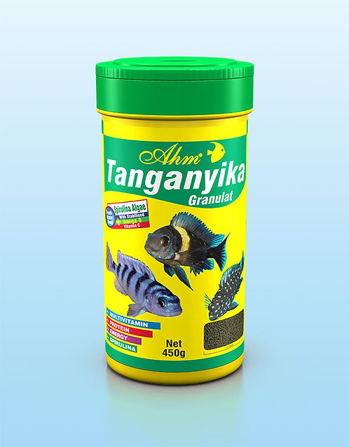 Ahm מזון מגורען צמחי לדגי טנגניקה   Tanganyika Green Granulat