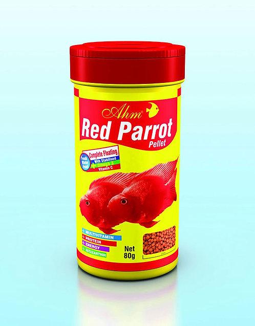 מזון לדגי תוכי red parrot pellet