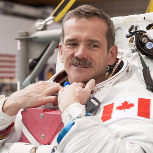 Chris Hadfield: The Most Inspiring Astronaut. Don't Give Up