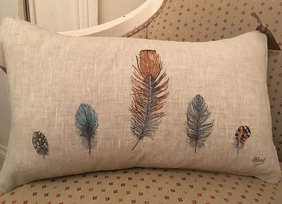 Five Feather Cushion