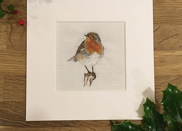 Fine Art Giclee Robin Print