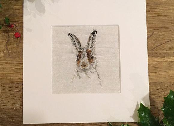 Fine Art Giclee Mountain Hare Print