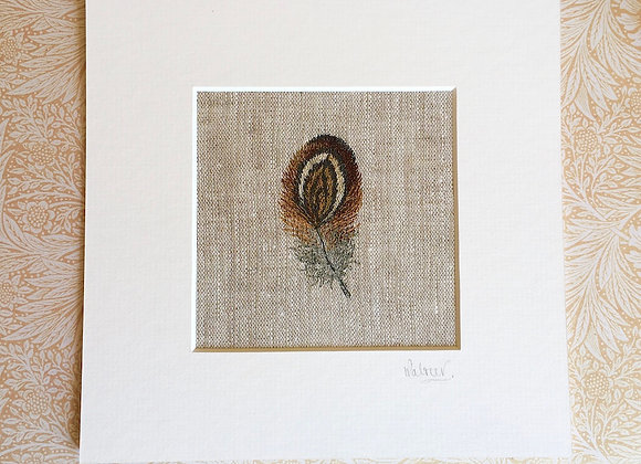 Fine Art Giclee Feather Study I Print