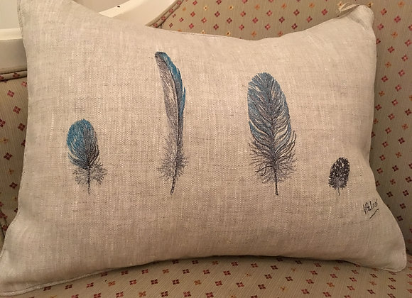 Four Feathers Cushion