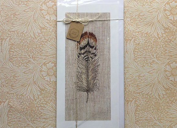 Pack of Four Large Feather Study Cards