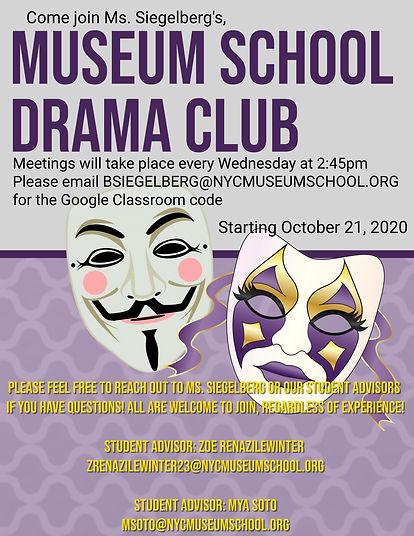 Copy of Purple high school drama club fl