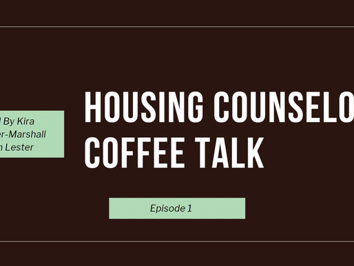 We are kicking off the Housing Counseling Coffee Talk - A Facebook Live Joint!