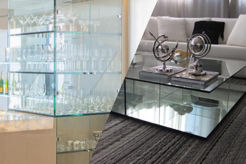 Revestimento com vidro em móveis é  diferencial para seu negócio!