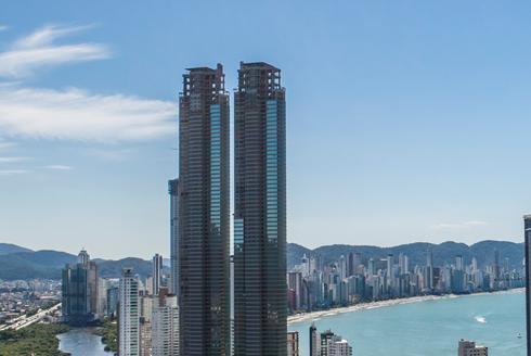 Vidro insulado e outros elementos no maior prédio residencial da América Latina!