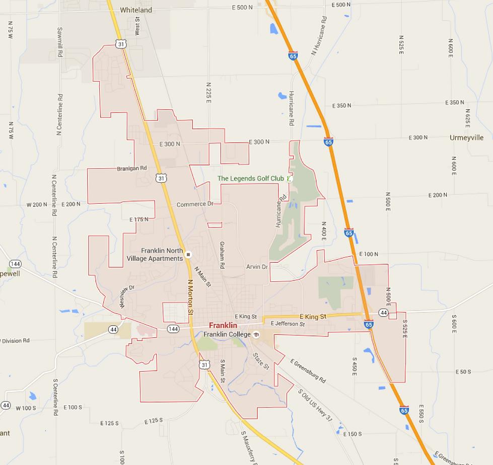 Franklin, Indina Township Trustee Service Area