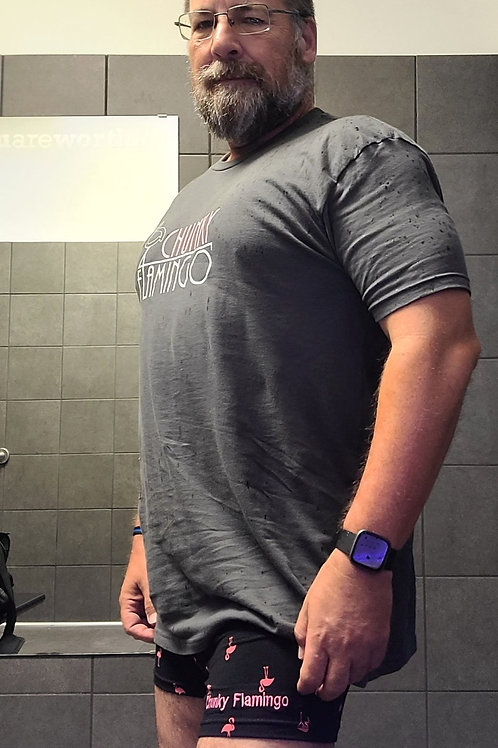 Uni-sex Retro Charcoal Shirt