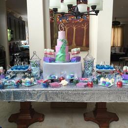Happy princess mermaid birthday Genesis