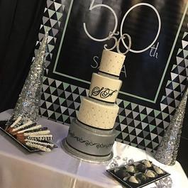 Cake by #sugahb for Sasa's 50th bday extravaganza!