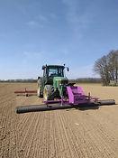Roulpresemis léger avant tracteur 2x3ml
