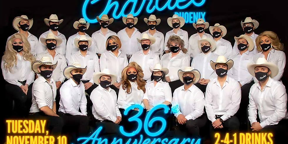 Charlie's Phoenix 36th Anniversary Party