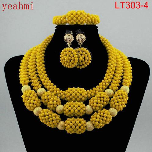 femme doubai parures Africaines Ensemble Bijoux Perles Nigérians
