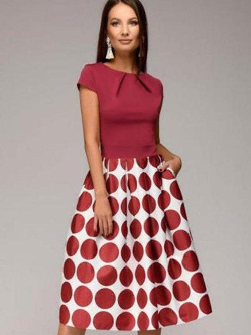 Femme Élégante Casual A-ligne robe