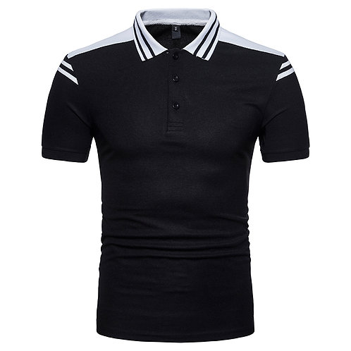 Hommes Polo Shirt Casual solide