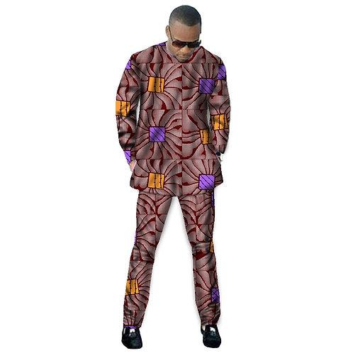 homme Ensembles Tops + Pantalon  Dashiki de Mode
