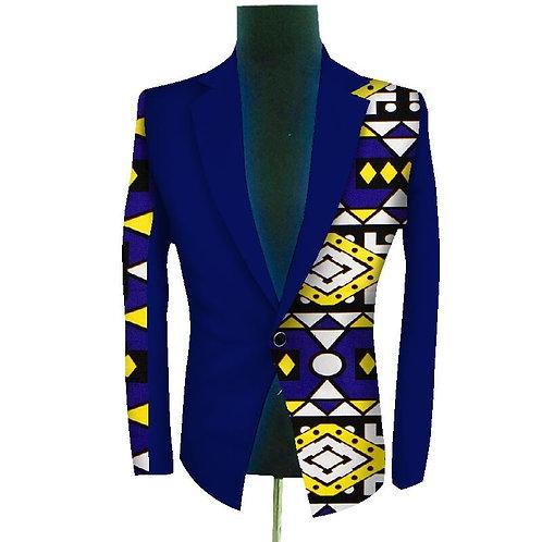 Homme blazer imprimés, Style africain, blazer festif , personnalisé