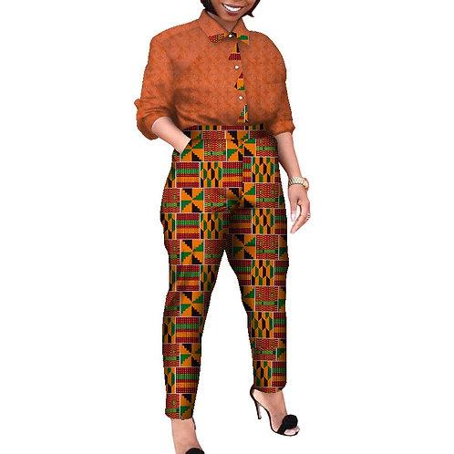 femme  RICHIC tenue de travail ensemble afro stylé