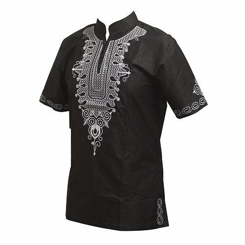 dashiki man chemise brodé simple model  03
