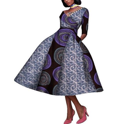 nouveau robe design femmes africaines  avec perles