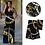 Thumbnail: 4m Ankara africain imprime Tissu et 2m mousseline de soie2