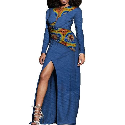 Robes de dame élégante sexy  tissu jacquard matière
