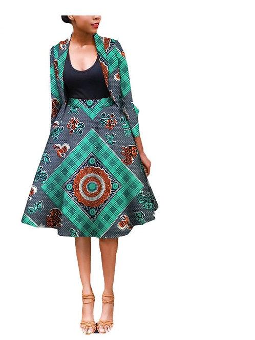 costume pour femmes africain lothing deux-pièces