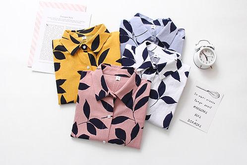 femme chic chemise flore imprimé  ref B111