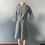 Thumbnail: femme robe impression à carreaux bureau  dames