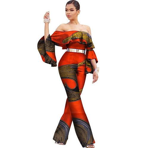 Femmes Dashiki richic combinaison élégante