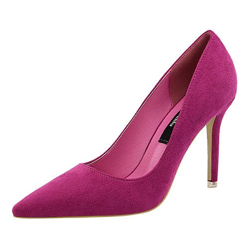 femme Chaussures Talon Bout Pointu color haute qualité