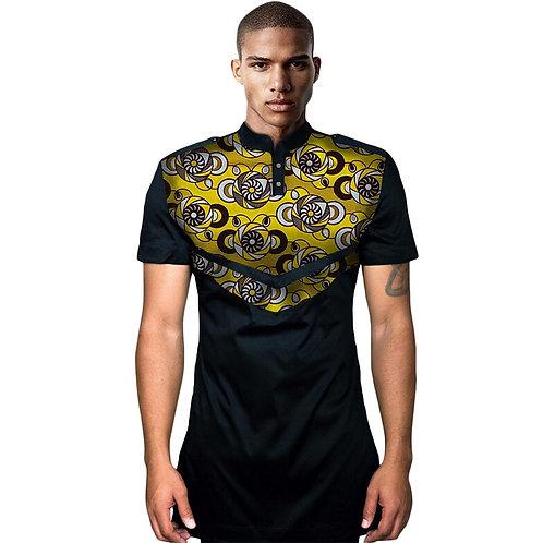 Hommes t shirt Imprimer Manches Courtes Casual Style P ref02