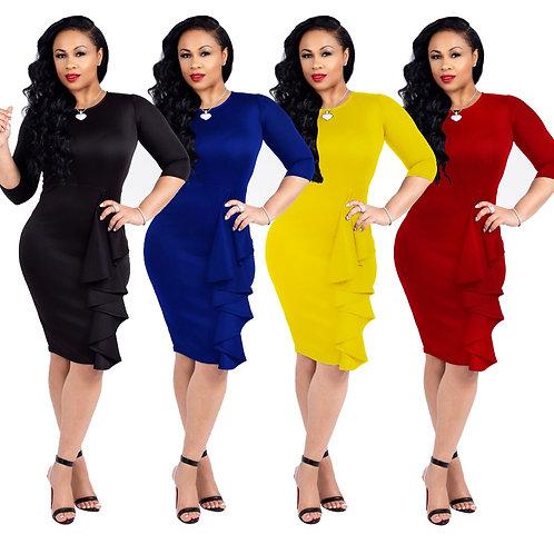 emmes vêtements model Haute matériau Pur couleur