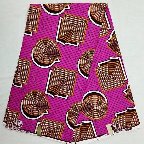 wax prints tissu 6m super cire hollandais 100% coton ref20