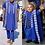 Thumbnail: hommes africain Agbada 3 pièces ensemble enfant garçons  chemise  brodé