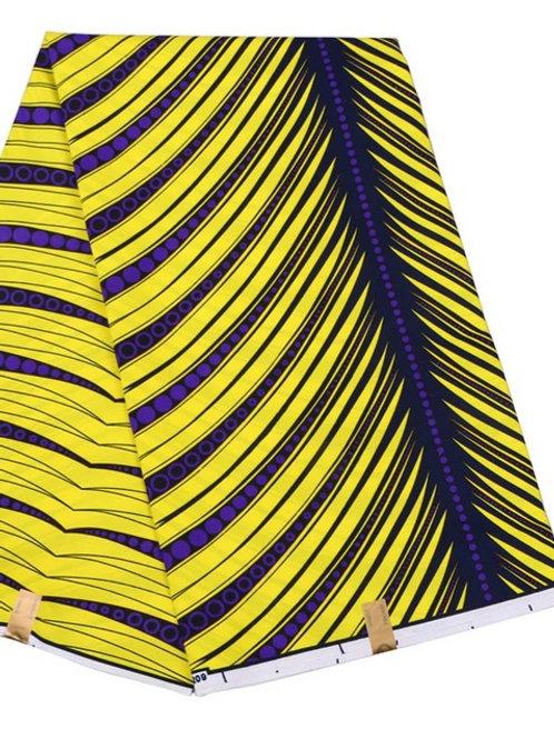wax prints tissu 6m super cire hollandais 100% coton ref22