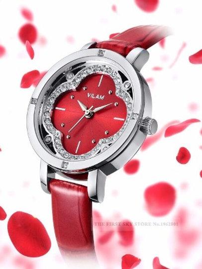 VILAM marque mode femmes montres de luxe dames Quartz diamant