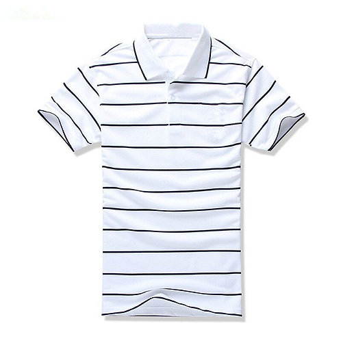 Polo chemise hommes à manches courtes polos Slim Fit décontractéref00b2