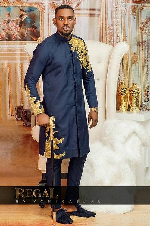 homme de mariage chemise dashiki brodé richic model ref02